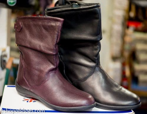 Padders Regan leather English made mid legnth boot.