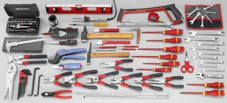 Facom 2070.E18 FACOM ELECTRIANS TOOL KIT (96 Pieces)