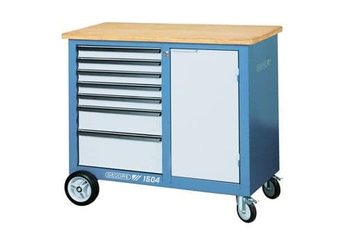 Gedore Mobile Workbench With 7 Drawers