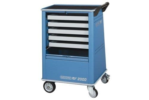 Gedore Tool Trolley With 5 Drawers