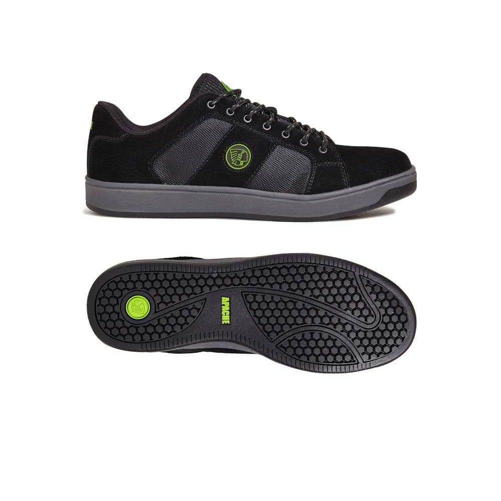 Apache Kick Safety Trainers Black