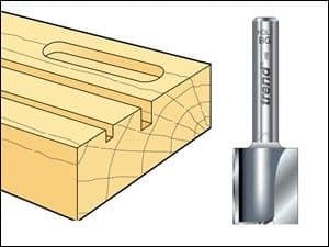 Trend 4/60 x 1/4 TCT Two Flute Cutter 22.0mm x 19mm