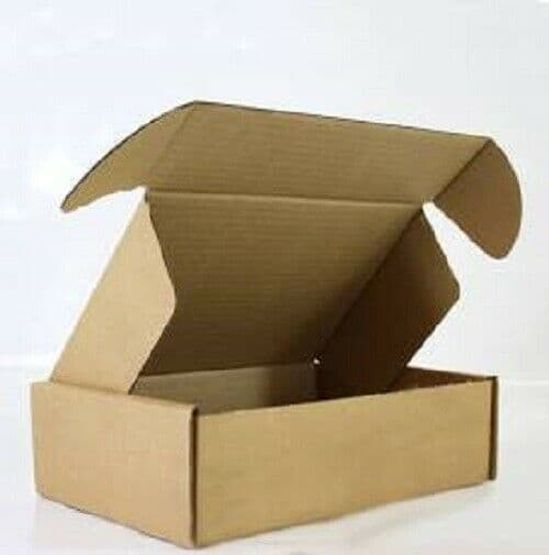 Cardboard Boxes - Brown Kraft Packing Cartons Mailing Post - Heavy Duty - Gift Box