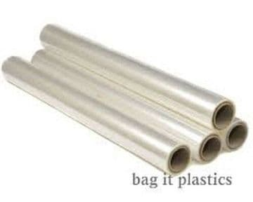 CELLOPHANE FLORIST FLOWER WRAP CLEAR GIFT FILM 80cm / 800mm WIDE VARIOUS LENGTHS