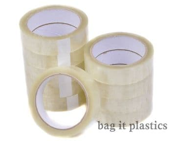 "CELLOTAPE ROLLS TAPE 1"" x 66m CLEAR PARCEL PACKAGING ROLL BOXES SELLOTAPE"