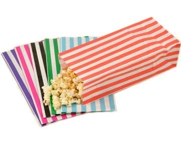 Pick n Mix Sweet Popcorn Bags Candy Paper Gift Bag Wedding Cart Party