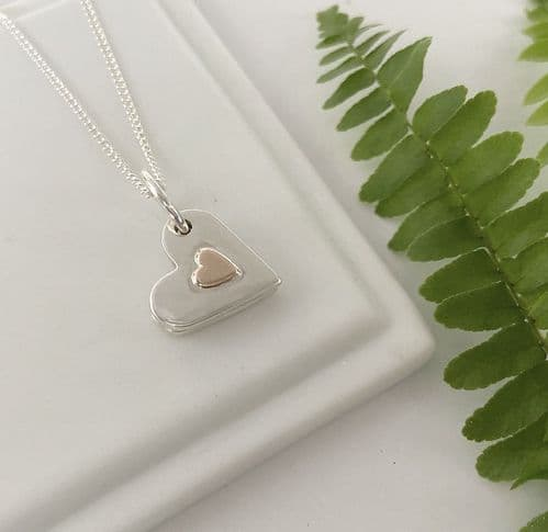 Ashes Heart Necklace
