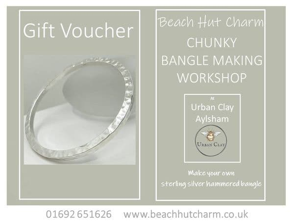 Chunky Bangle Workshop  Gift Voucher
