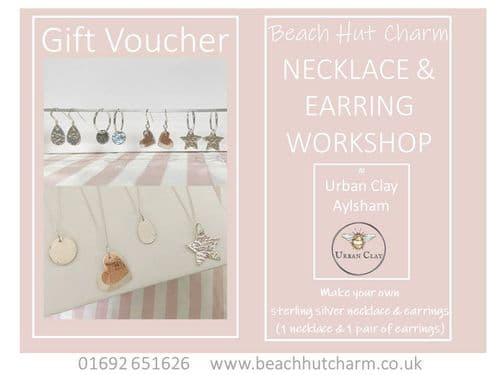 Earrings & Necklace Workshop  Gift Voucher