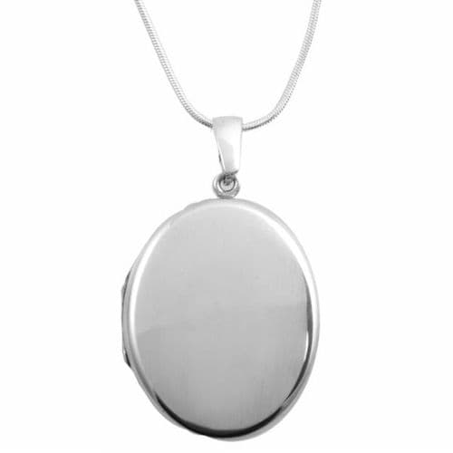 Family Silver Locket