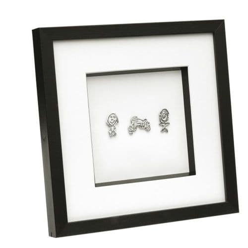 Framed Silver Artwork