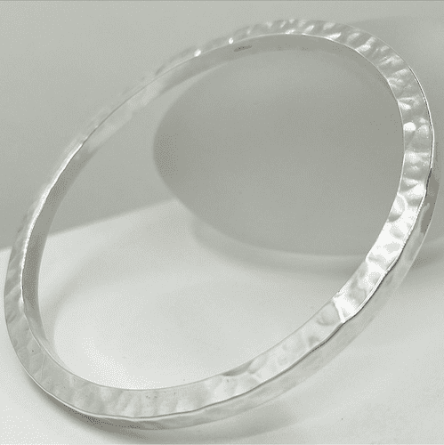 Large Hammered Bangle