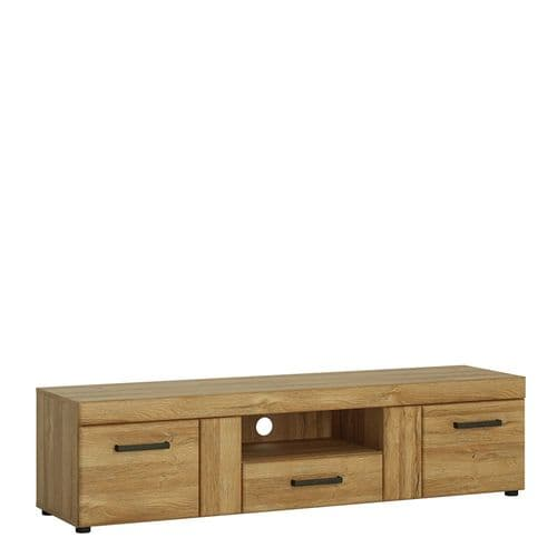2 door 1 drawer wide TV cabinet