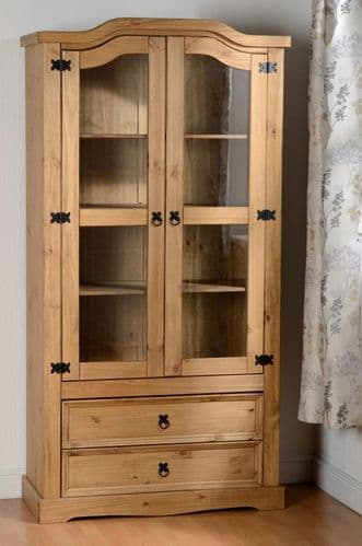 2 Door Glass Display Unit