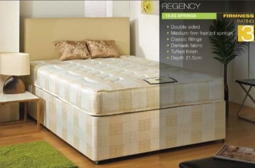 Regency Divan Bed and Mattress