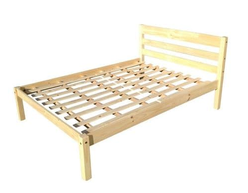 Traditional Pine Double Bed