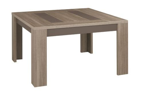Atlanta Charcoal Oak Square Table