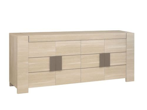 Atlanta Light Oak 3 or 4 Door Sideboard