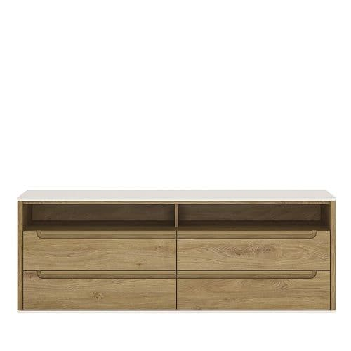 Dorset 4 Drawer wide TV cabinet