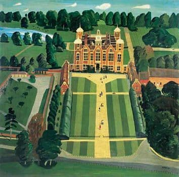 Blickling Hall Art Print by Brian Lewis, Blickling Hall