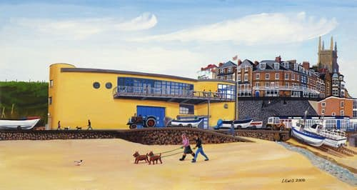 Cromer Art Prints by Brian Lewis, The Rocket House Cafe, Cromer