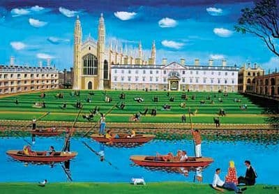 Kings College Art Print by Brian Lewis, King's College