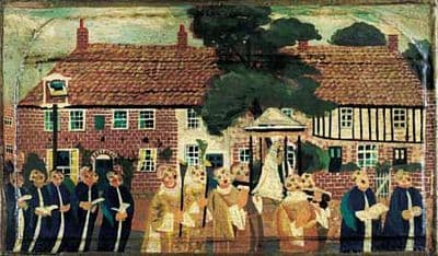 Our Lady of Walsingham, Passing the Bull