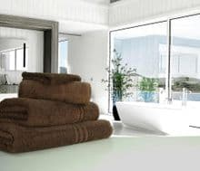 Great Quality Blue Label, 500gsm Bath Towel in Chocolate
