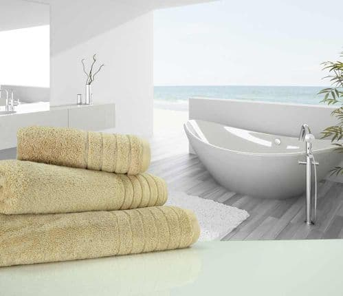 Luxurious linenHall, 650gsm Hand Towel in Natural