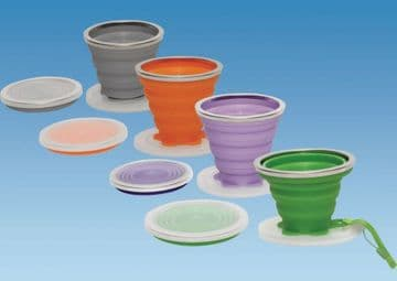 Collapsible Cup 240ml  Pack of 4