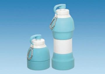 Collapsible Drinks Bottle 580ml  TURQUOISE
