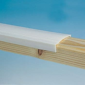 White Window capping 10 Mtr Roll