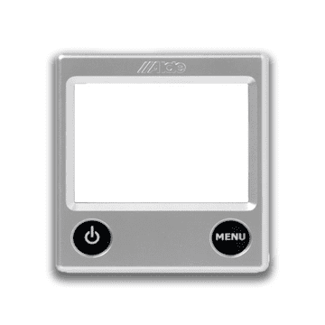 ALDE SILVER FASCIA FOR THE CO LOUR TOUCH CONTROL PANELS 112