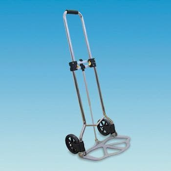 Aluminium Folding Water/Gas Bottle Trolley