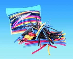 Assorted Colour Heatshrink 2:1