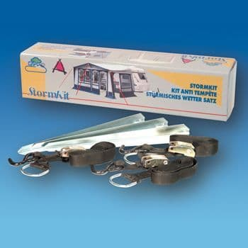 Awning Storm Tie Down Kit Straps & Cam Buckle