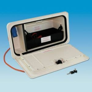 BCA NBBS New Battery Box & Door System WHITE