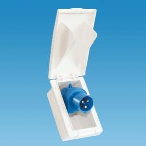 BCA White TND Rectangular Inlet (Flush Fitted)