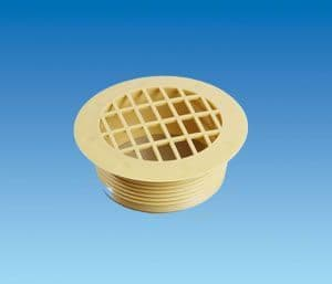 BEIGE Fixed Vent Fitting