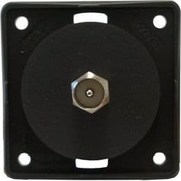 Berker Co-axial TV aerial point anthracite