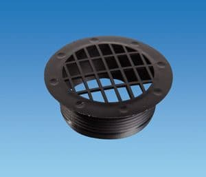 BLACK Fixed Vent Fitting