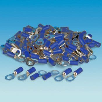 Blue Ring Terminal - Pack of 100