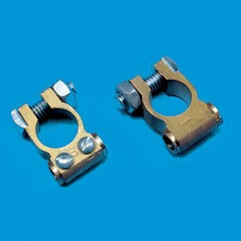 Brass Battery Clamps