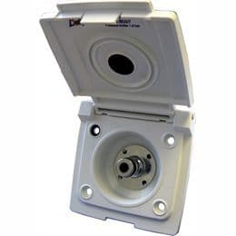 Bullfinch Water Inlet with Pressure Limiter - White