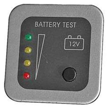 CBE GREY BATTERY TEST PANEL LED