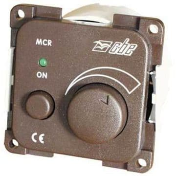 CBE GREY ELECTRONIC DIMMER WITH LED