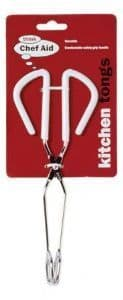 CHEF AID KITCHEN TONGS