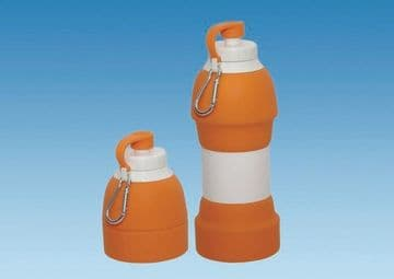 Collapsible Drinks Bottle 580ml – ORANGE