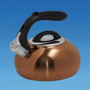 COPPER POLISHED 1.8 Litre Gas Hob Kettle