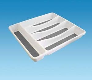 Cutlery Tray White - 5 Position